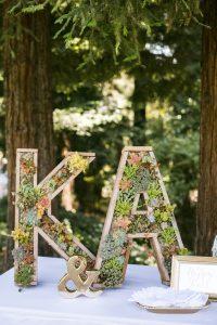Letters con fiori - Fonte Pinterest