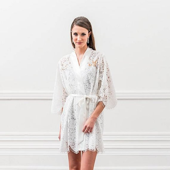 grande vendita f8150 da26c vestaglia sposa pizzo la wedding in tasca - La Wedding in Tasca