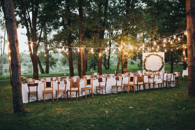 tavola eco wedding, sostenibile, etica