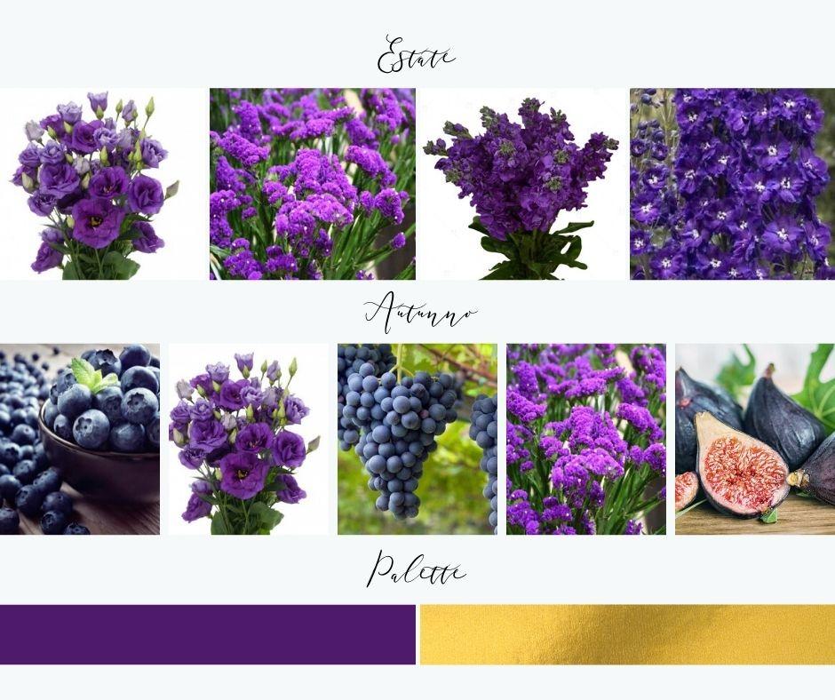 fiori e frutta matrimonio autunnale