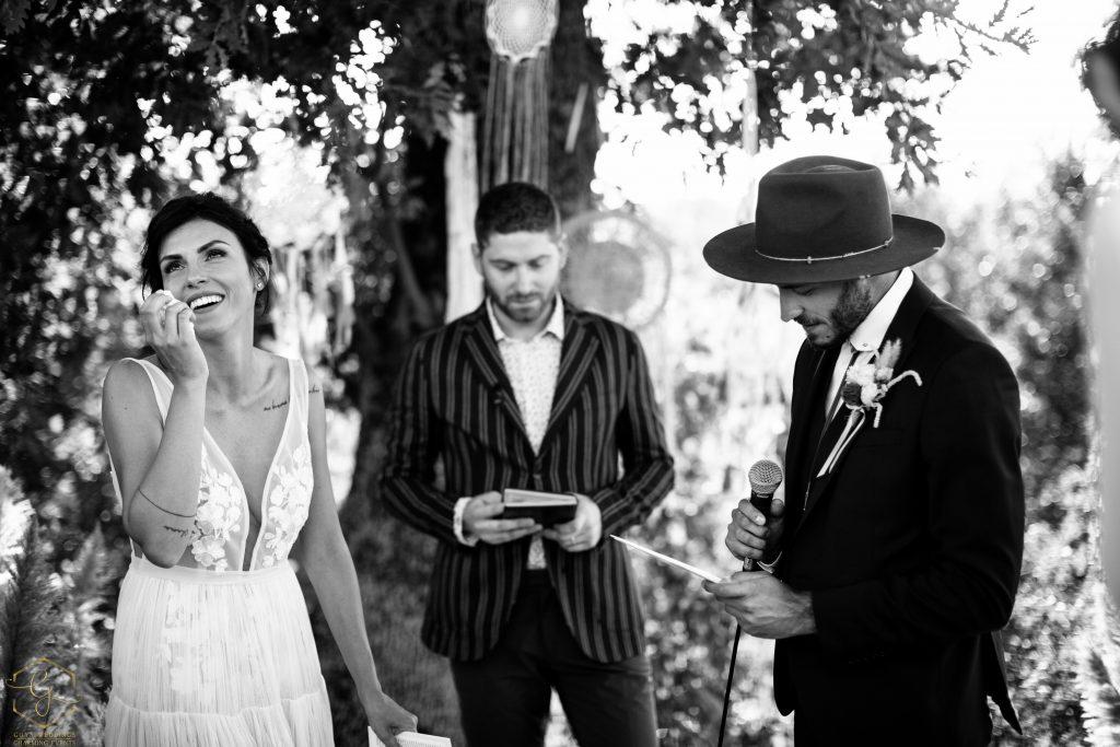 Cerimonia matrimonio boho chic