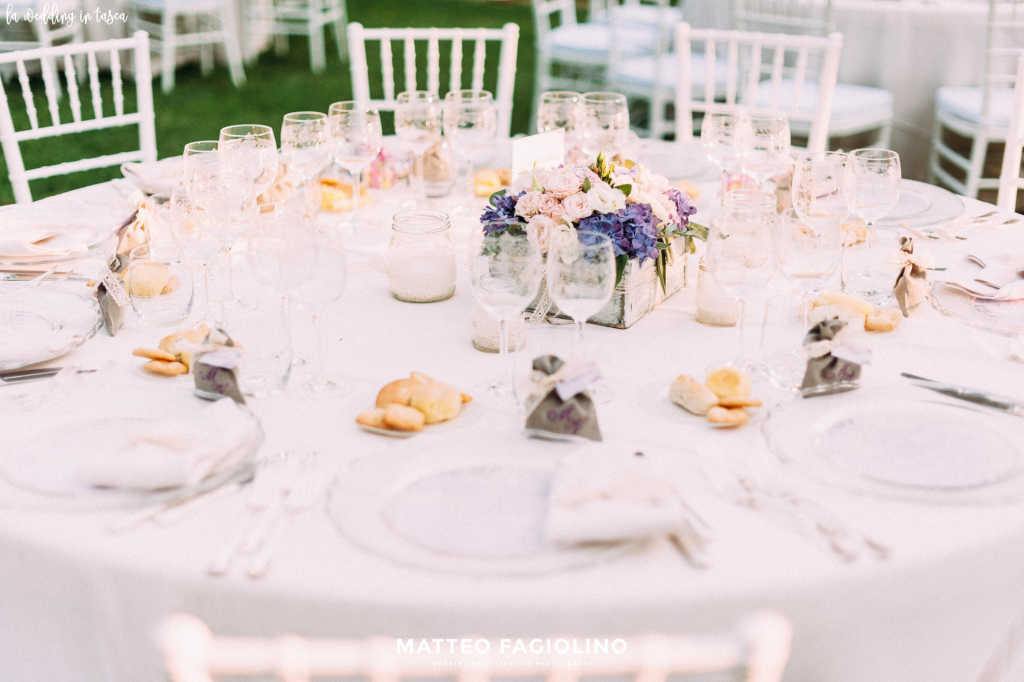 matrimonio post covid-19 allestimento tavoli