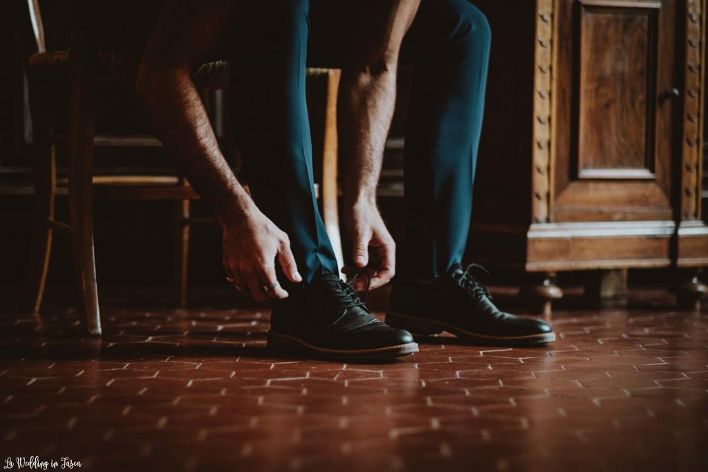 scarpe da matrimonio sposo