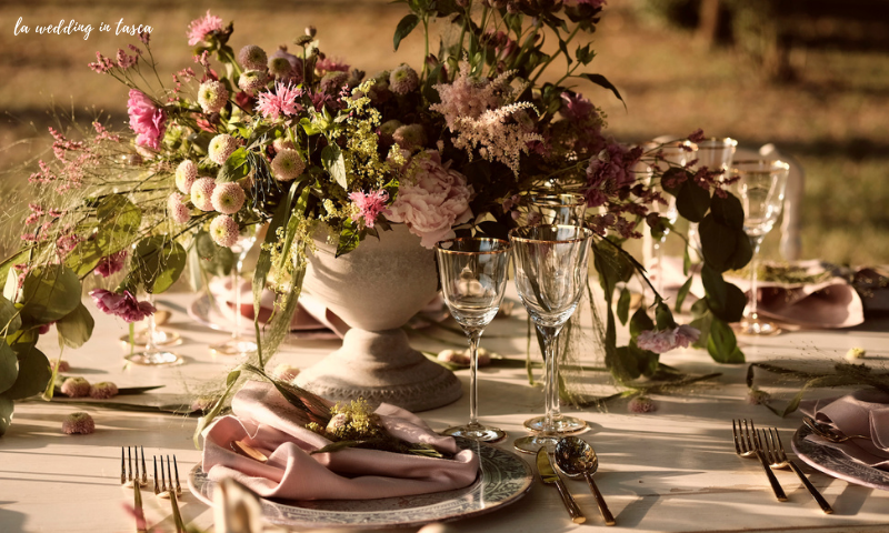 allestimento matrimonio, fornitori nozze