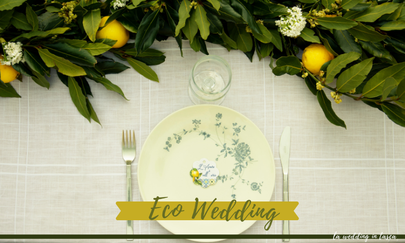 eco wedding, matrimonio sostenibile