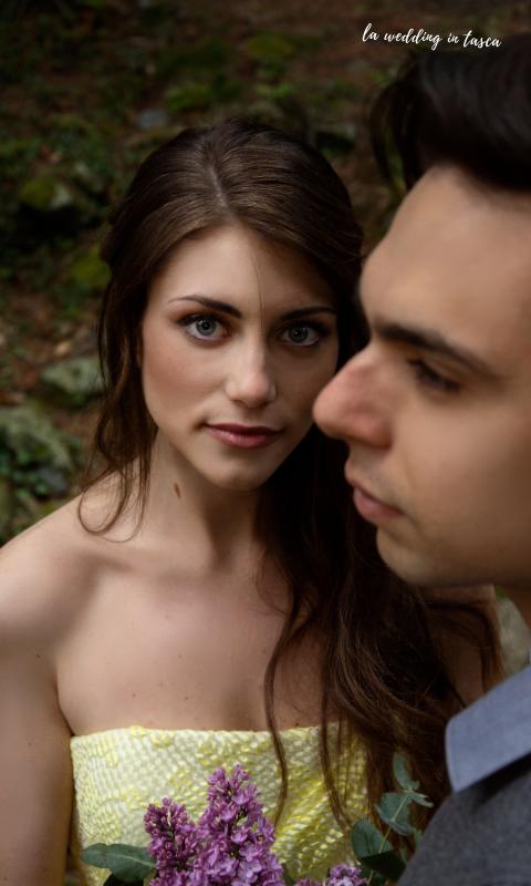 shooting matrimonio sostenibile